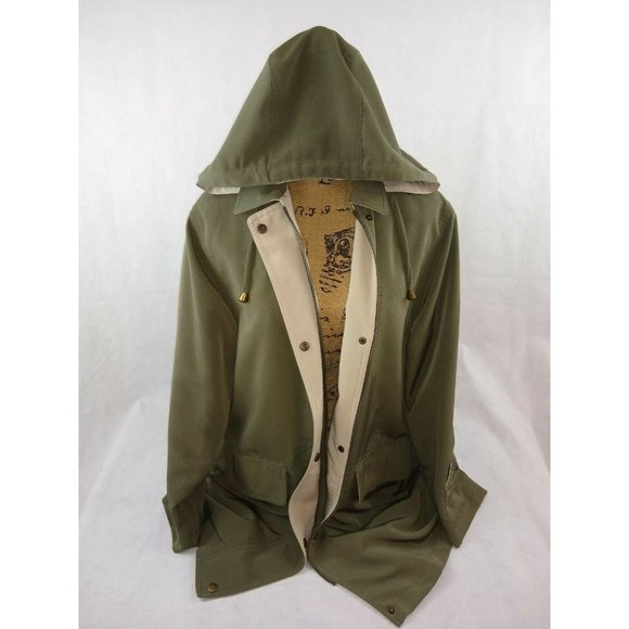 Westbound Jackets & Blazers - Westbound Coat Removable Hood Size S Green